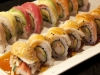 Teriyaki Roll and Rainbow Roll