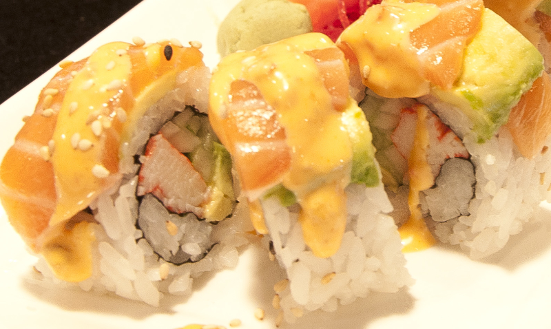 Orange Dragon Roll